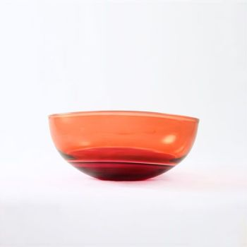 Oval Encalmo Bowl | small | antique rose & peach