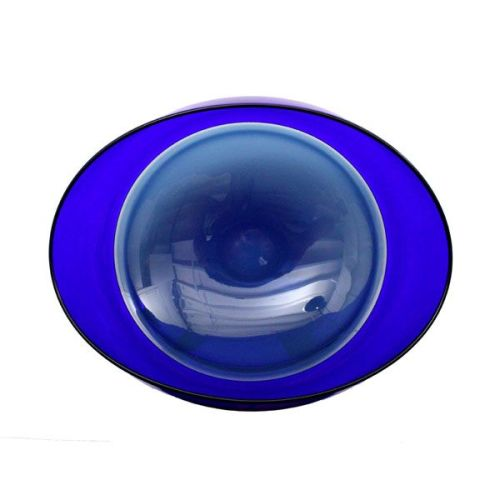 Oval Encalmo Bowl | medium | steel & cobalt