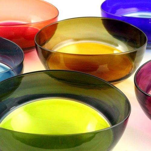 Oval Encalmo Bowl | medium | turquoise & steel