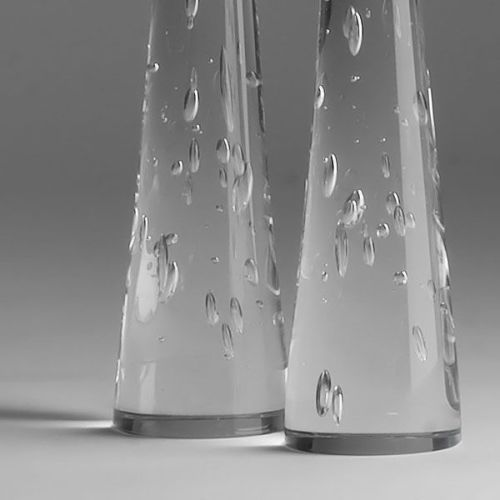 Zephyr Candlesticks | small pair