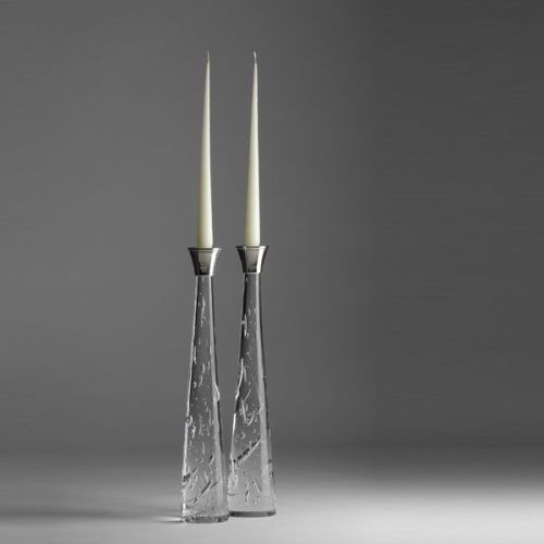 Zephyr Candlesticks | tall pair