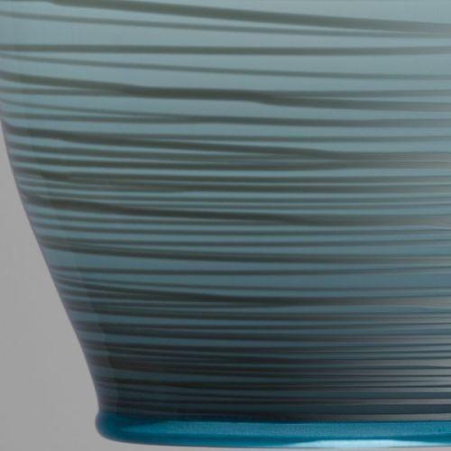 Beehive Pendant | dark opal grey close up detail