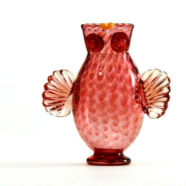 Owl Jug | peach