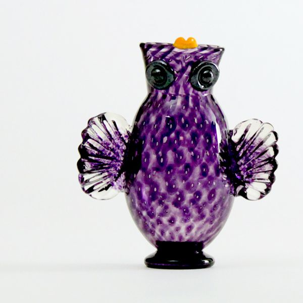 Owl Jug | purple