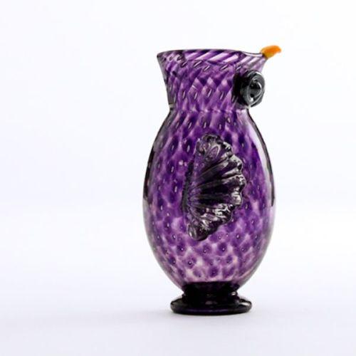 Owl Jug | purple