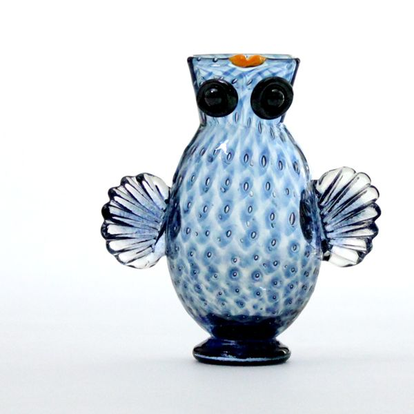 Owl Jug | steel blue