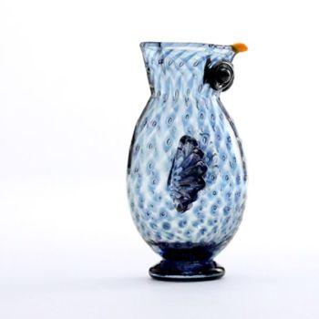 Owl Jug | steel blue