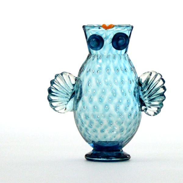 Owl Jug | turquoise