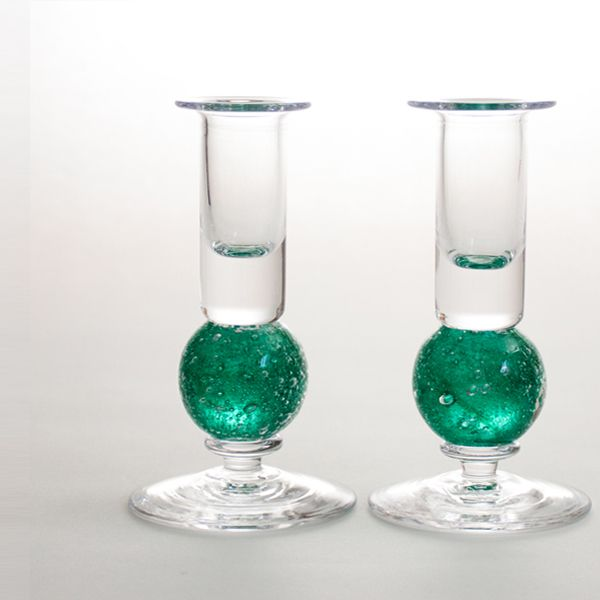 <!-- 001 -->Stellar candlesticks | green pair