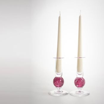 Stellar candlesticks | rose pair