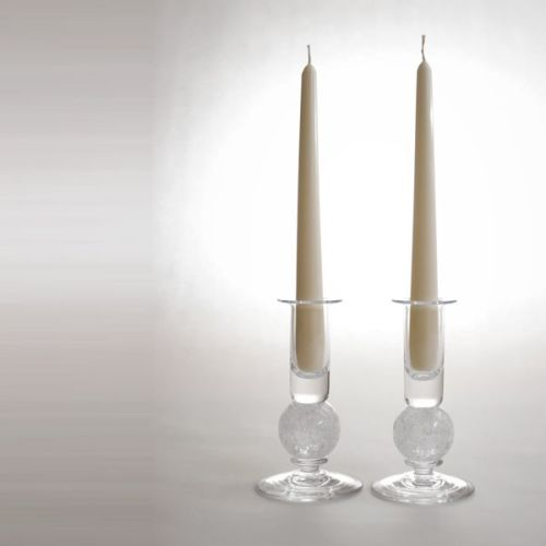 Stellar candlesticks | clear pair