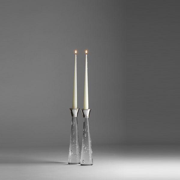 Zephyr Candlesticks | small pair