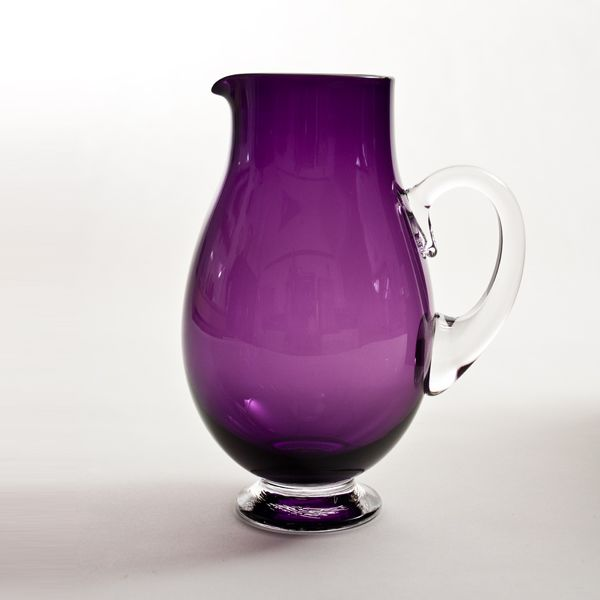 Small Round Jug | purple