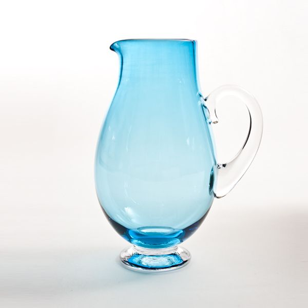 Small Round Jug | copper blue