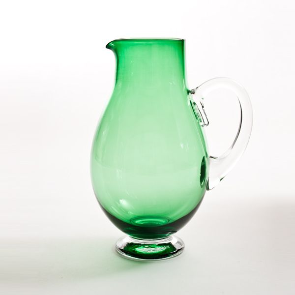 Small Round Jug | Green