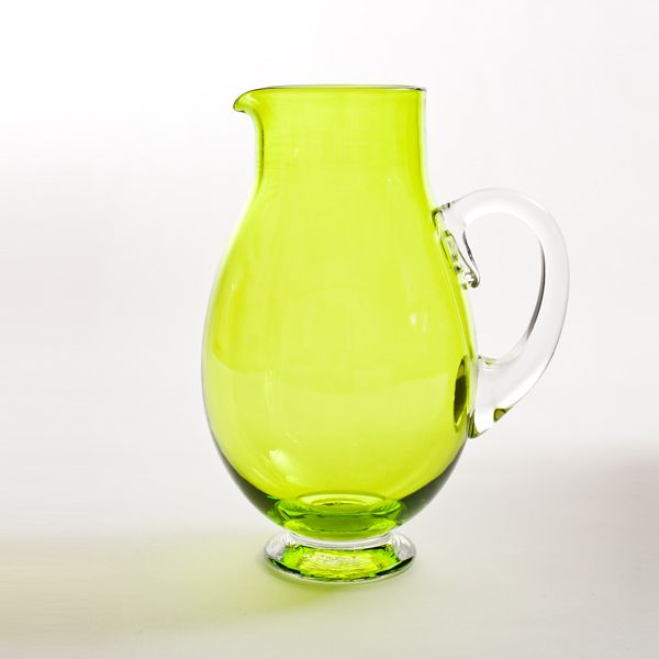 Small Round Jug | lime
