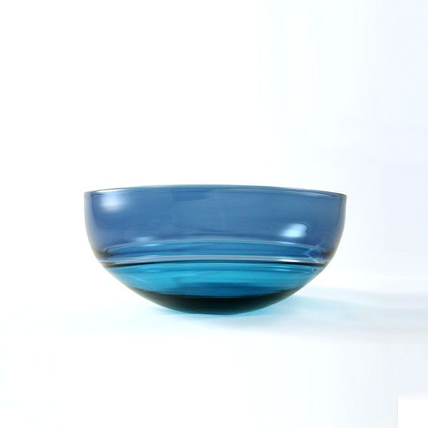 Oval Encalmo Bowl | small | turquoise & steel