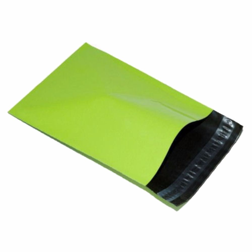 Lime Green Mailing Bags