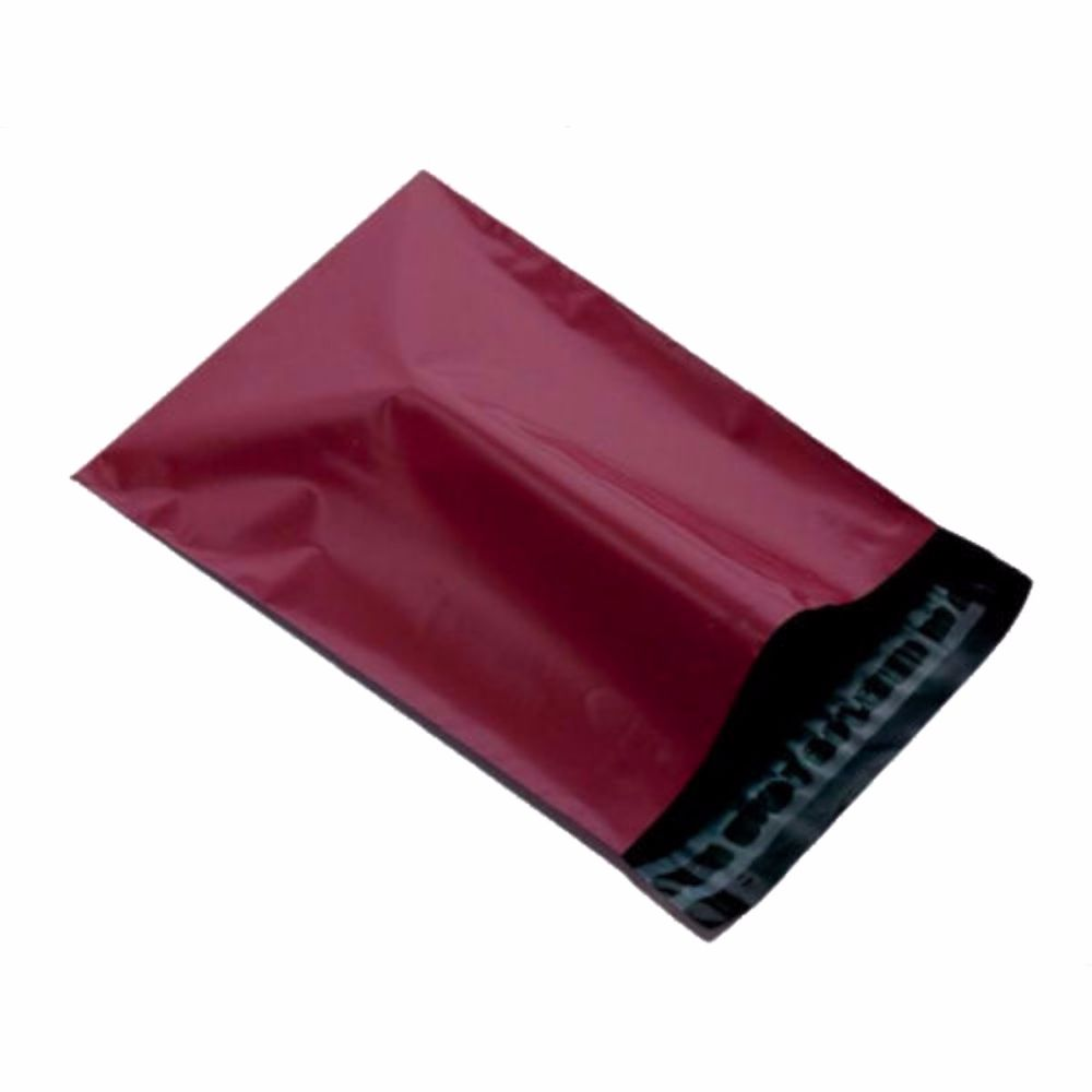 Burgundy Mailing Bags