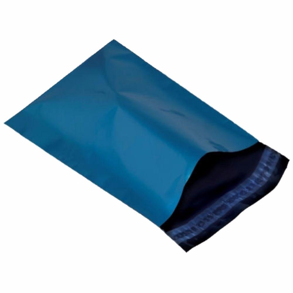 Metallic Blue Mailing Bags