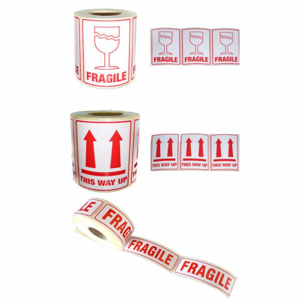 Fragile Printed Labels