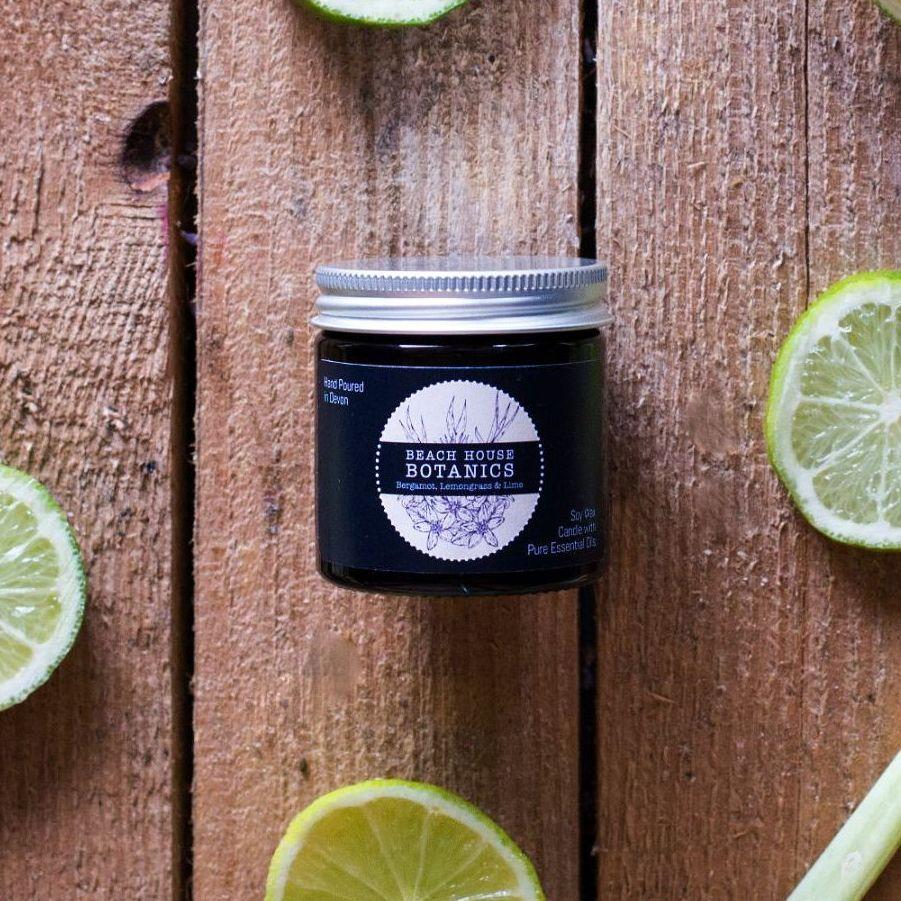 Bergamot Lemongrass & Lime Mini Jar 60ml