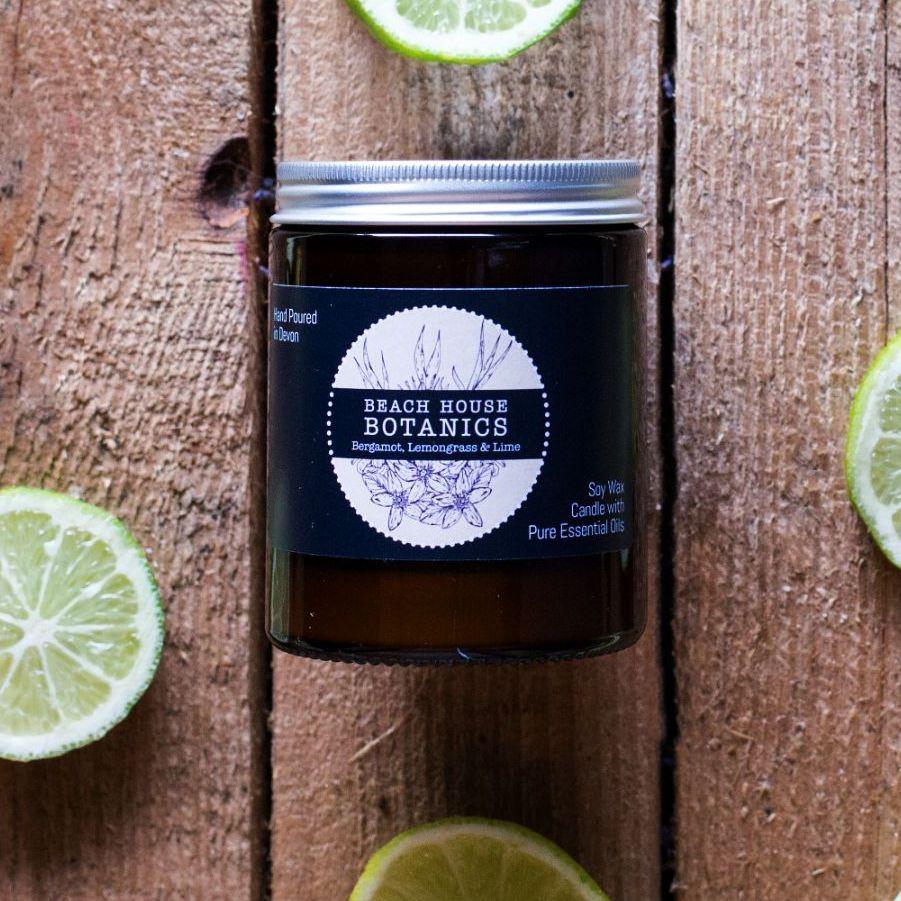 Bergamot, Lemongrass and Lime Medium Jar 180ml