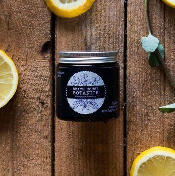 Eucalyptus & Lemon Small Amber Jar 120ml