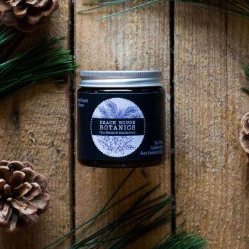 Pine Needle & Sandalwood Small Amber Jar 120ml