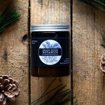 Pine Needle & Sandalwood Medium Amber Jar 180ml