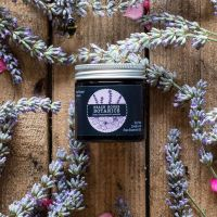 Rose Geranium & Lavender Mini Amber Jar 60ml