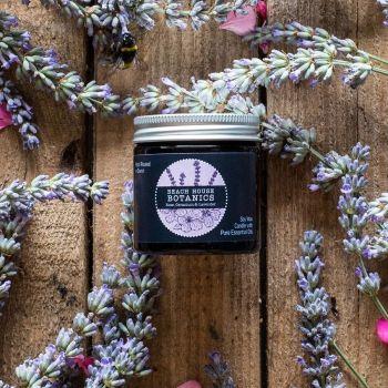 Rose Geranium & Lavender Mini Amber Jar 60ml