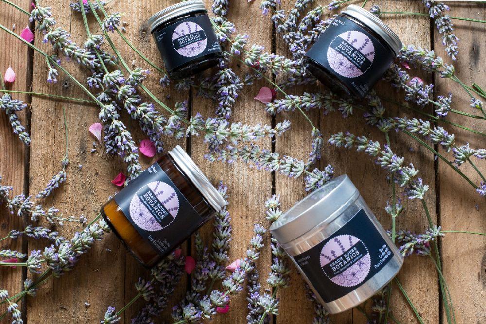 Rose Geranium & Lavender