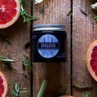 Rosemary, Grapefruit & Lemongrass Small Amber Jar 120ml