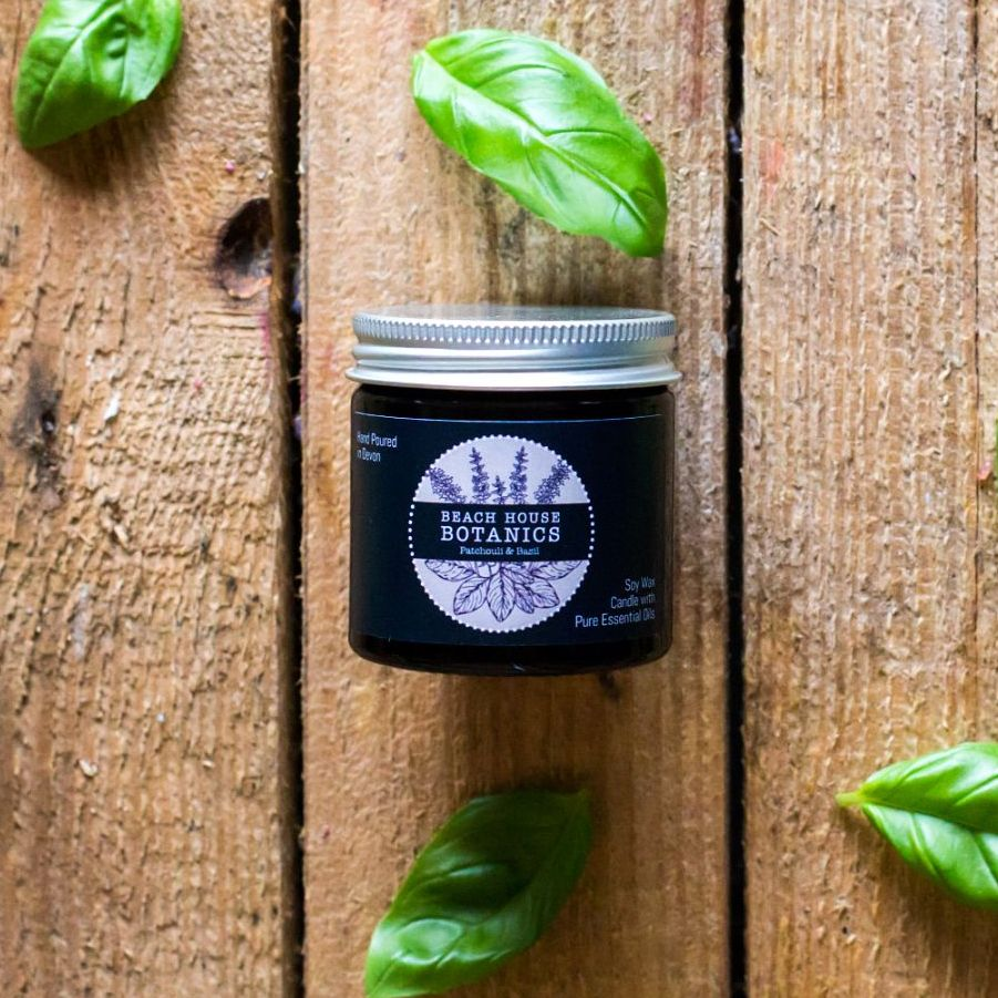 Patchouli & Basil Mini Jar 60ml