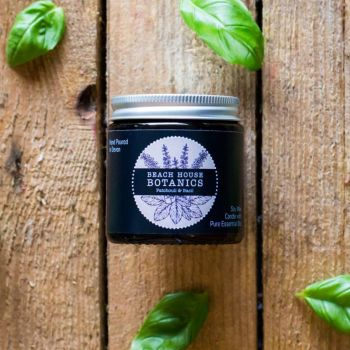 Patchouli & Basil Small Amber Jar 120ml