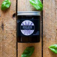 Patchouli & Basil Medium Amber Jar 180ml