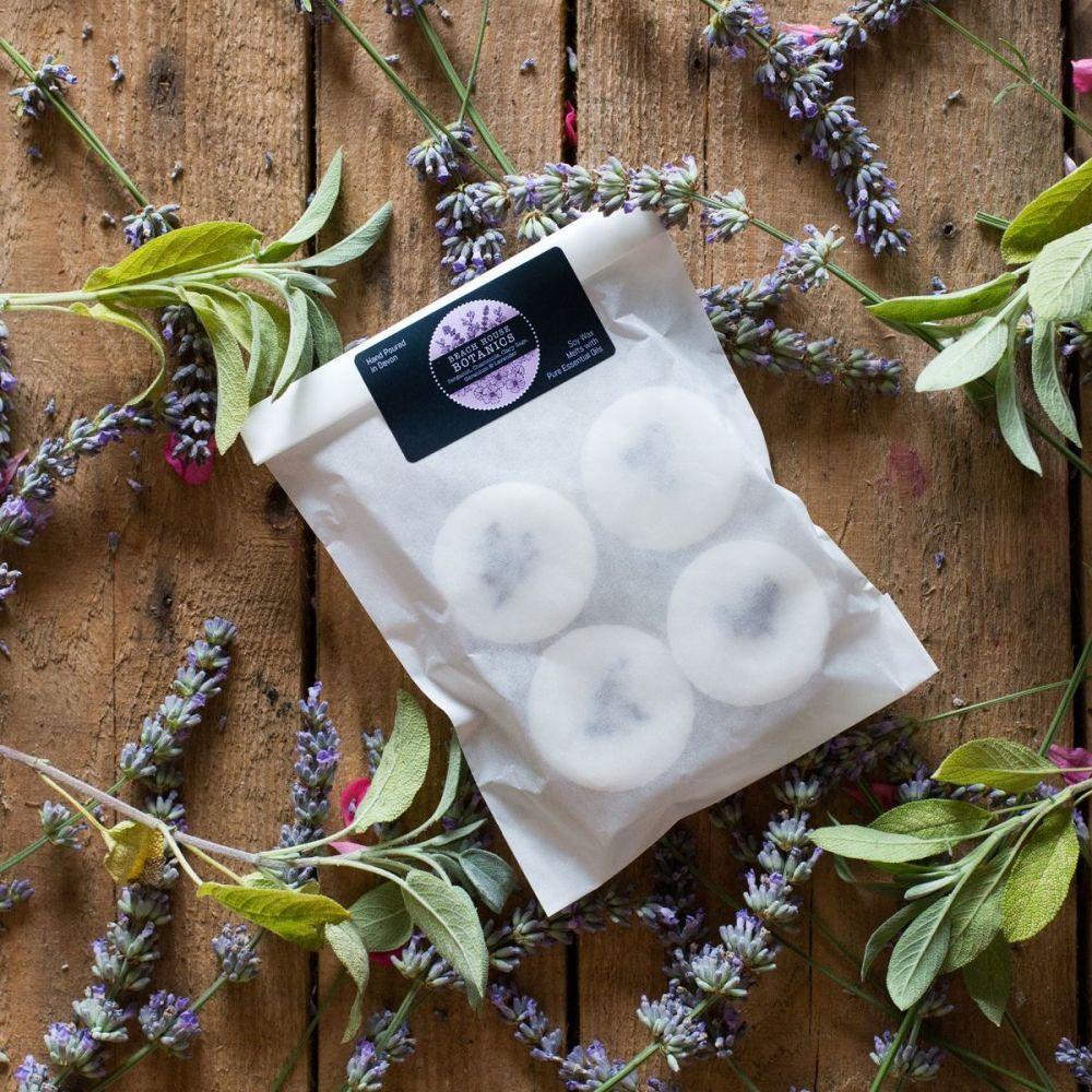 Bergamot, Chamomile, Sage, Geranium & Lavender Soy Wax Melts (Pack of 4)