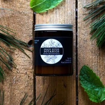 Sea Pine, Mint & Eucalyptus Medium Amber Jar 180ml
