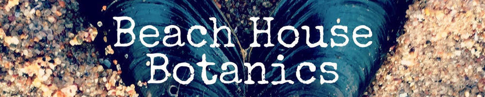 Beach House Botanics, site logo.