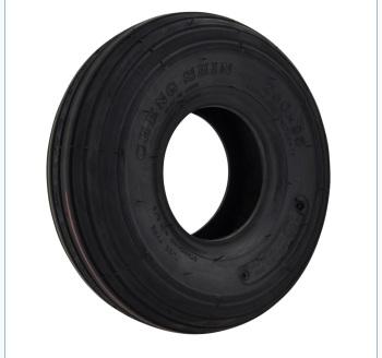 Cheng Shin 3.00 x 4 black rib tyre