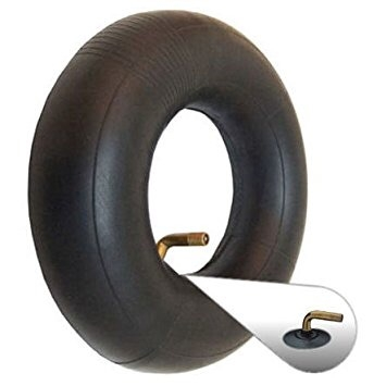 Inner tube size 4.00 x 5 with angled metal valve.