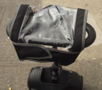 MyWren Universal waterproof tiller cover