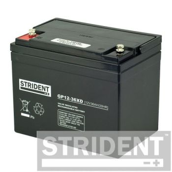 Strident 12 Volt 36 Ah AGM mobility scooter batteries