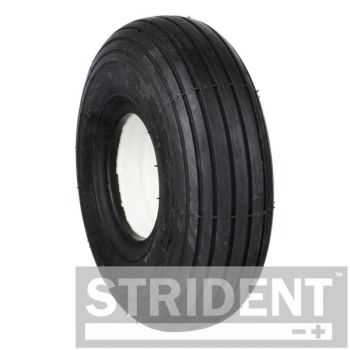 2 x 3.00 - 4 Black rib puncture proof tyres