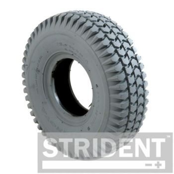 Grey Pneumatic 260 x 85 (3.00-4) Block Tyre
