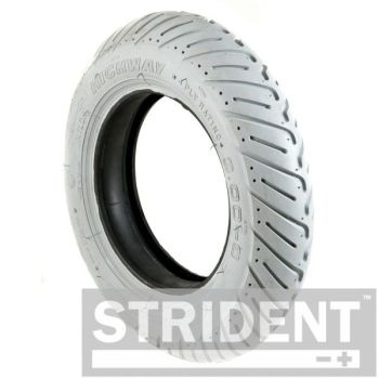 Grey Pneumatic 300 x 8 tyre