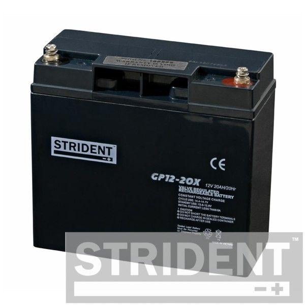 Pair of Strident 20 Ah batteries