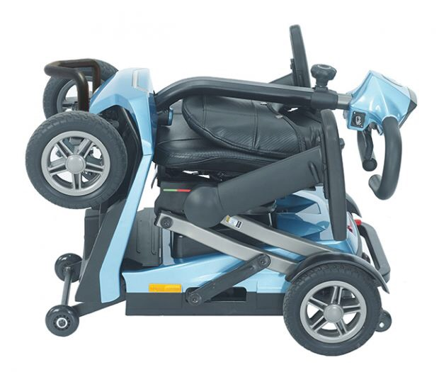 Rascal Smilie manual folding 4 mph mobility scooter