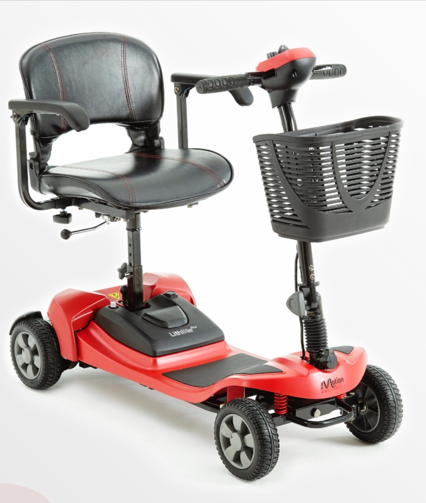 Lithilite portable mobility scooter 4 mph